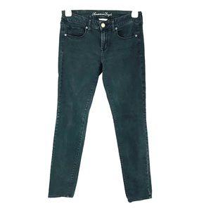 AMERICAN EAGLE Black Skinny Jeans 8